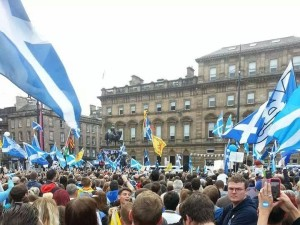 Homage to Catalonia; Scotland says ho sentim