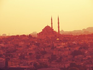 A postcard from Istanbul